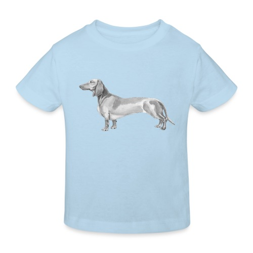 Dachshund smooth haired - Organic børne shirt