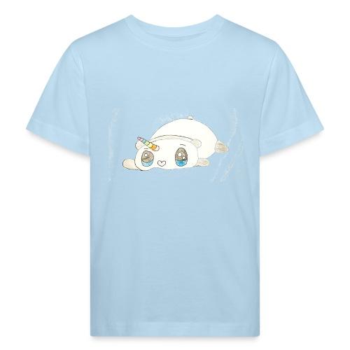 Kids for Kids: sleepingunicorn - Kinder Bio-T-Shirt