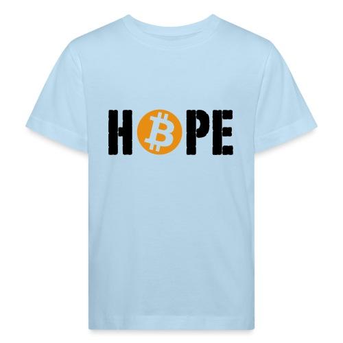 HOPE BTC - T-shirt bio Enfant
