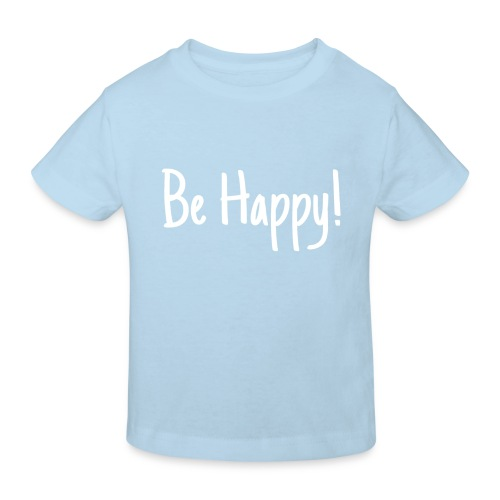 Be Happy - Kinder Bio-T-Shirt