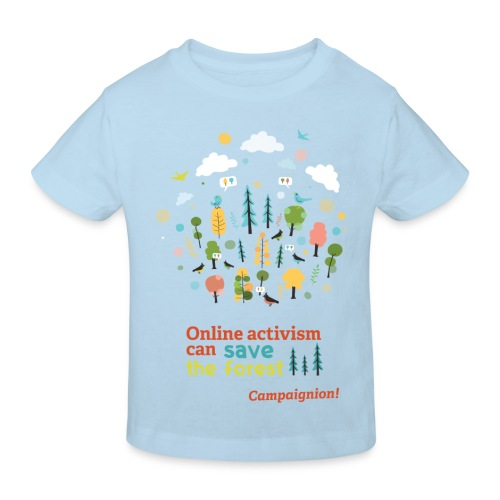 Save the forest - Kids' Organic T-Shirt