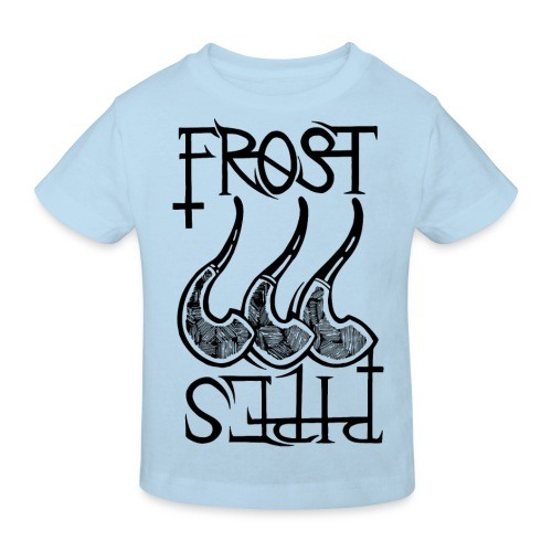 Frost Pipes Logo - Kids' Organic T-Shirt