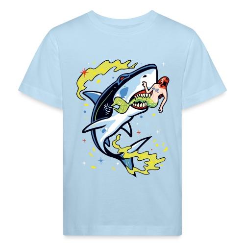 Requin mangeur de sirène - T-shirt bio Enfant