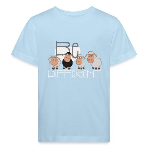Coole Be different Schafe Gang - Gute Laune Schaf - Kinder Bio-T-Shirt