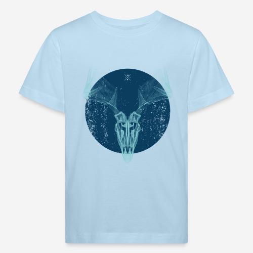 Hirschgeweih - Kinder Bio-T-Shirt