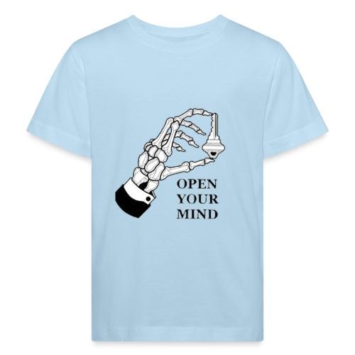 open your mind - Maglietta ecologica per bambini