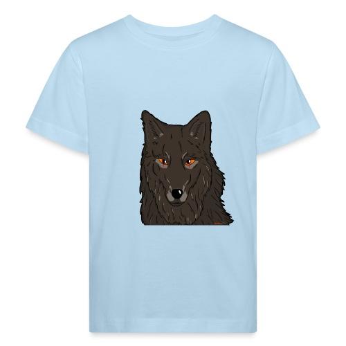 HikingMantis Wolf png - Organic børne shirt