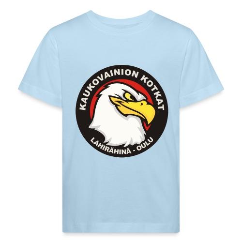Kaukovainion Kotkat - Lasten luonnonmukainen t-paita