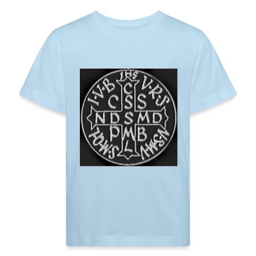 Protection St Benoit (Grande) . 圣本笃的保护 - T-shirt bio Enfant