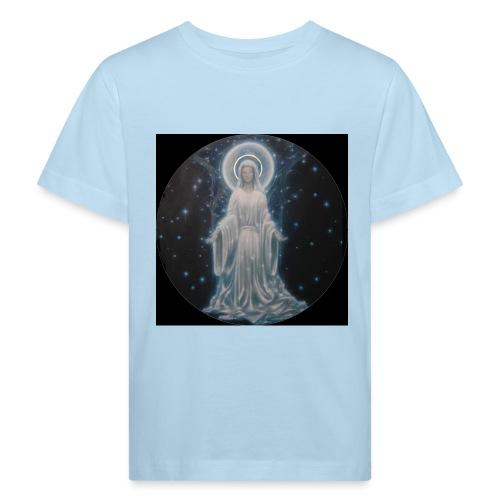 圣母玛利亚 Notre Dame by Jean Libon (Noir) - T-shirt bio Enfant