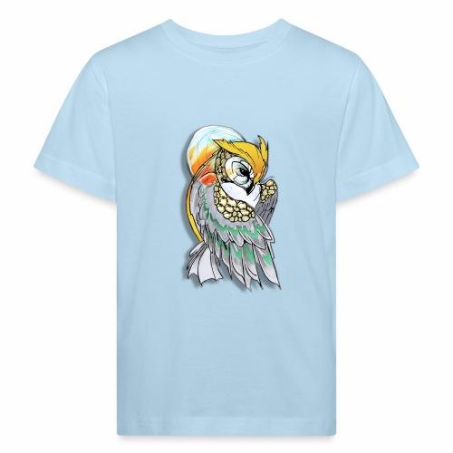 Cosmic owl - Camiseta ecológica niño