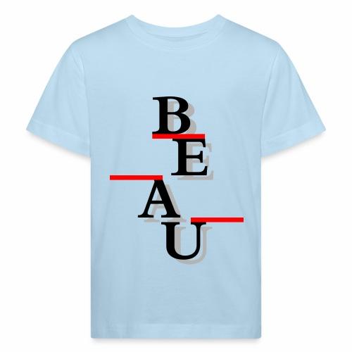Beau - Kids' Organic T-Shirt