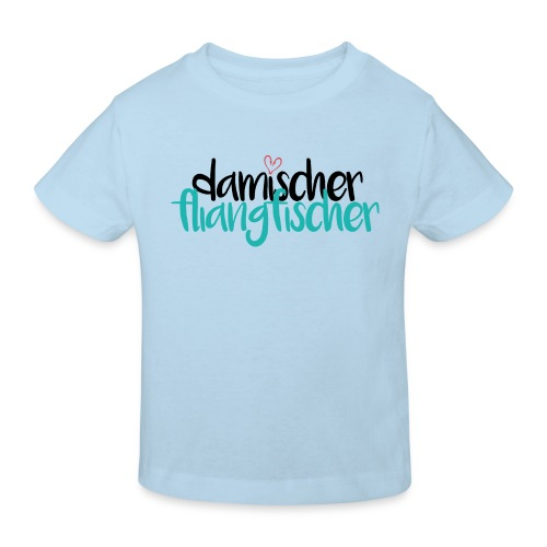 Damischer Doagfischer - Kinder Bio-T-Shirt