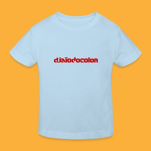 DJATODOCOLOR LOGO ROJO - Camiseta ecológica niño