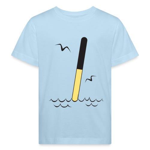 FP25 POHJOISVIITTA Merimerkit funprint24 net - Lasten luonnonmukainen t-paita