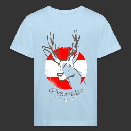 Österreich - Kinder Bio-T-Shirt