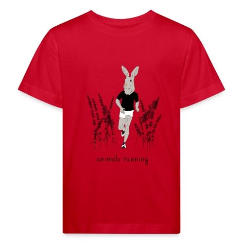 Lièvre running - T-shirt bio Enfant