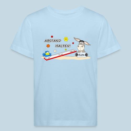 Abstand halten - Kinder Bio-T-Shirt