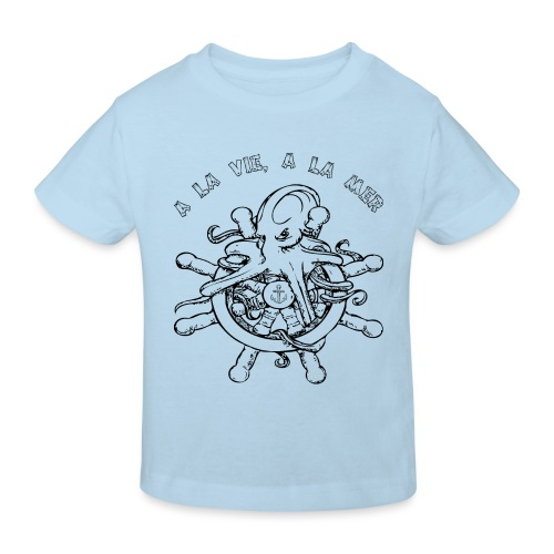 Octopus - T-shirt bio Enfant