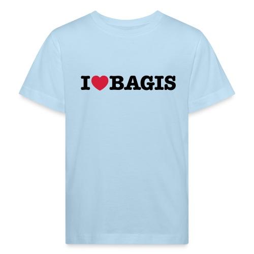 ilovebagis black - Ekologisk T-shirt barn