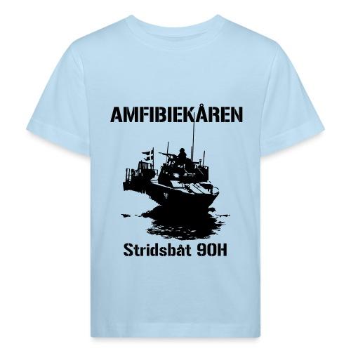 Amfibiekåren - Stridsbåt 90H - Ekologisk T-shirt barn