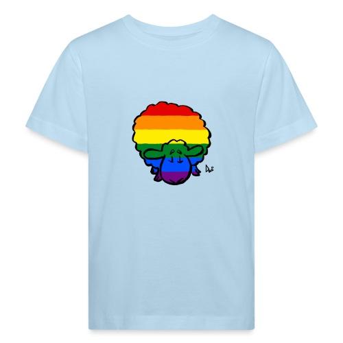 Rainbow Pride Sheep - Kids' Organic T-Shirt