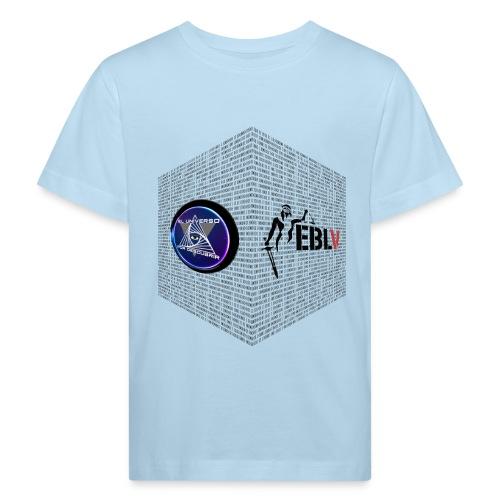 disen o dos canales cubo binario logos delante - Kids' Organic T-Shirt