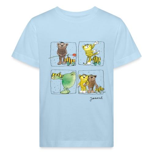 Janosch Tiger Und Freunde Das Leben Ist Schön - Kinder Bio-T-Shirt