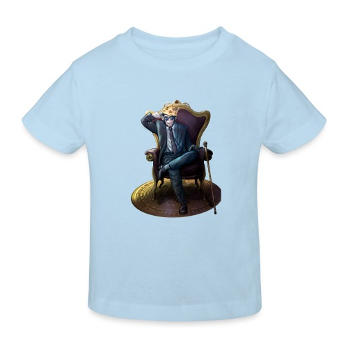 Bitcoin Monkey King - Gamma Edition - Kinder Bio-T-Shirt