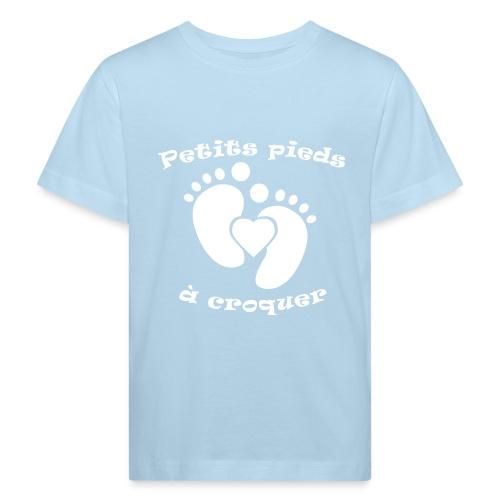 Petits pieds à croquer - T-shirt bio Enfant