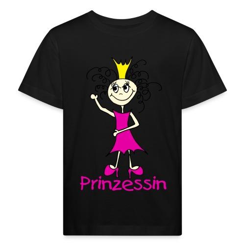 Prinzessin - Kinder Bio-T-Shirt