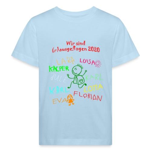 abschluss kita 2020 verbessert - Kinder Bio-T-Shirt