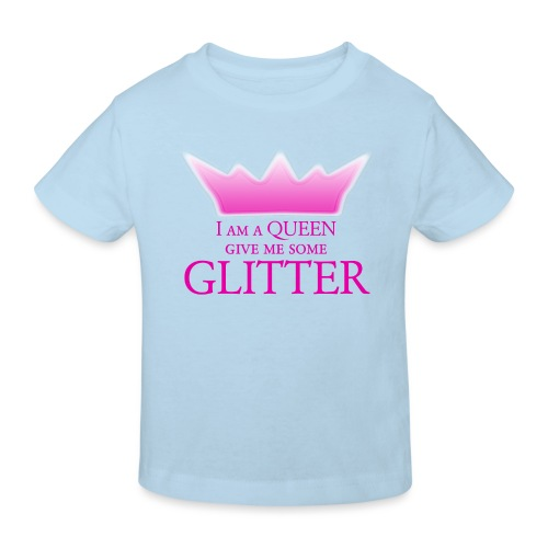 Glitter Queen - Kinder Bio-T-Shirt