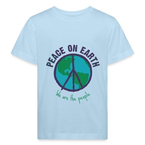 peace-purple.png - Kinder Bio-T-Shirt
