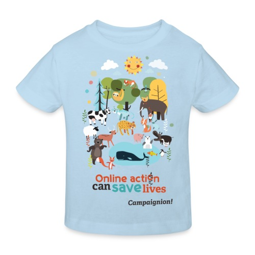 Save lives - Kids' Organic T-Shirt