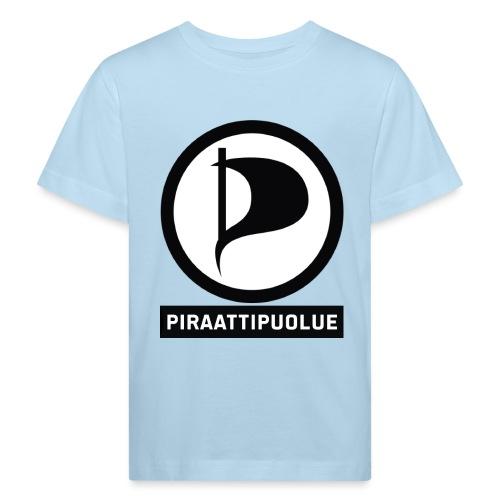 Piraattipuolue - Lasten luonnonmukainen t-paita