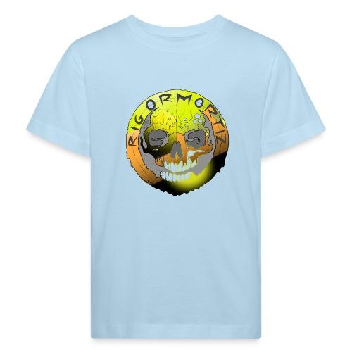 Rigormortiz Metallic Yellow Orange Design - Kids' Organic T-Shirt