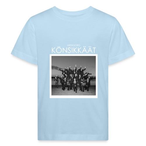 Könsikkäät - joulu saarella - Lasten luonnonmukainen t-paita