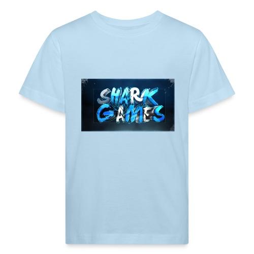 SharkGames - Maglietta ecologica per bambini