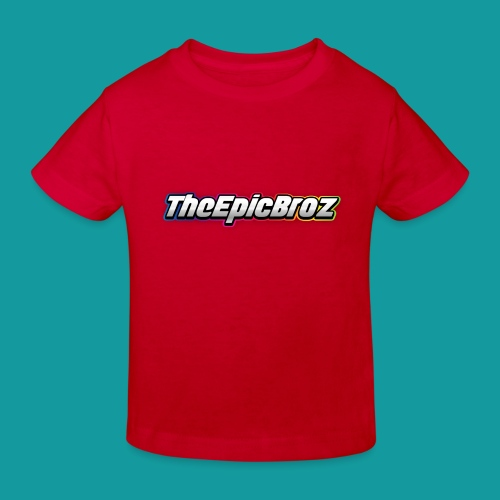 TheEpicBroz - Kinderen Bio-T-shirt