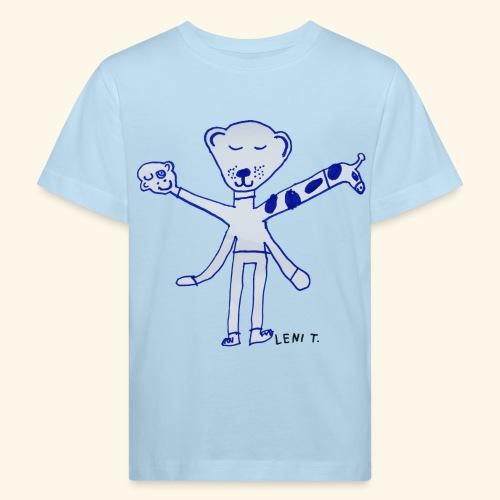 LeniT Teddy With a Twist - Lasten luonnonmukainen t-paita