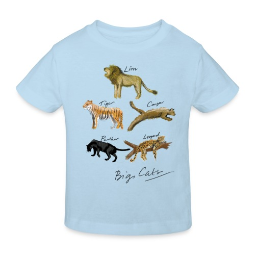 Cats - Kids' Organic T-Shirt