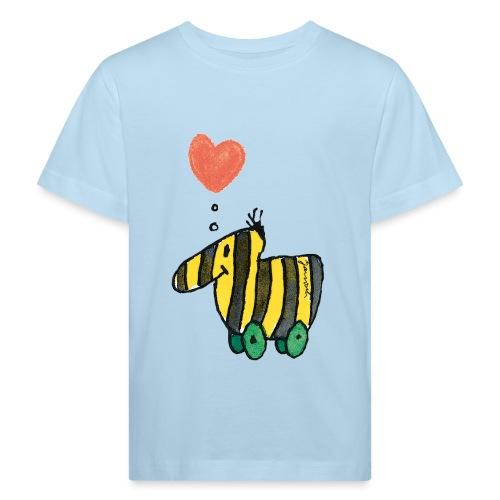 Janoschs Tigerente mit Herz - Kinder Bio-T-Shirt