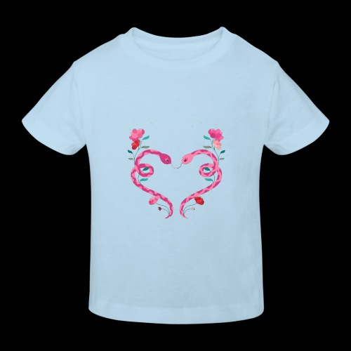 Coeur de serpents - T-shirt bio Enfant