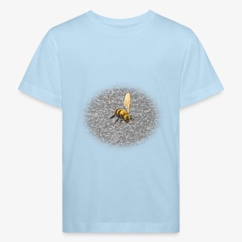 biene mit steienen - Kinder Bio-T-Shirt