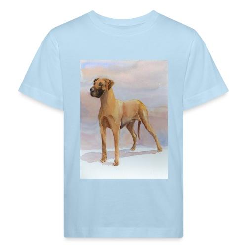 Great Dane Yellow - Organic børne shirt