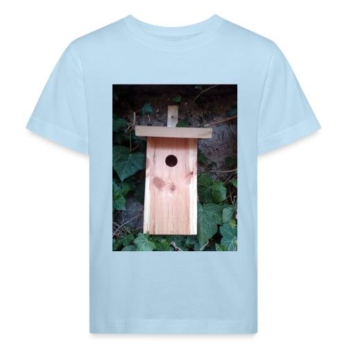Der Nistkasten - Luxus für den Garten-Vogel - Kinder Bio-T-Shirt