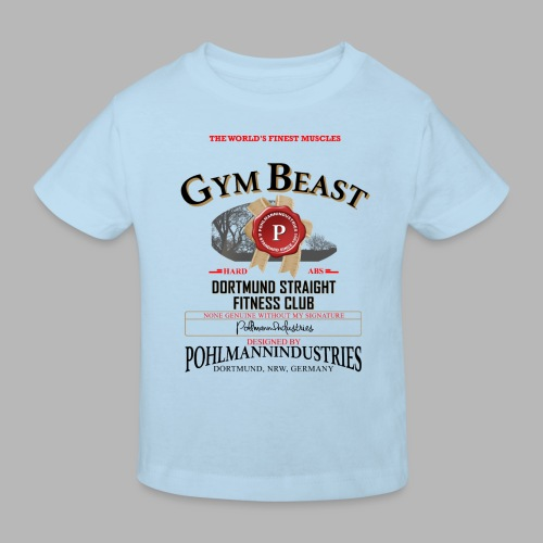 GYM BEAST - Kinder Bio-T-Shirt