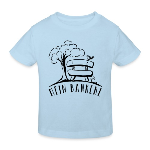 Mein Bankerl - Kinder Bio-T-Shirt