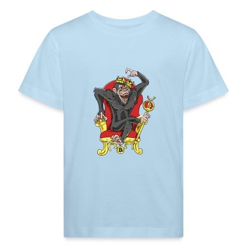 Bitcoin Monkey King - Beta Edition - Kinder Bio-T-Shirt